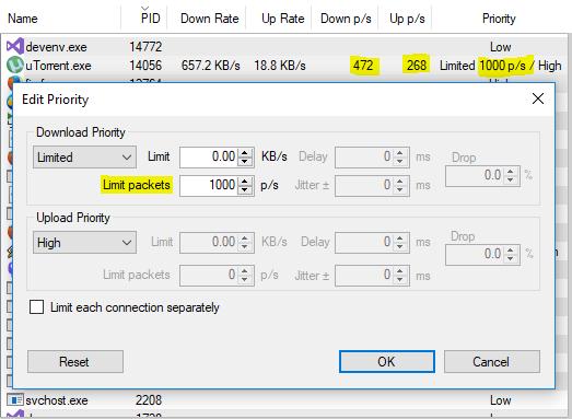 NetBalancer 9 11 With Packet Limits - NetBalancer